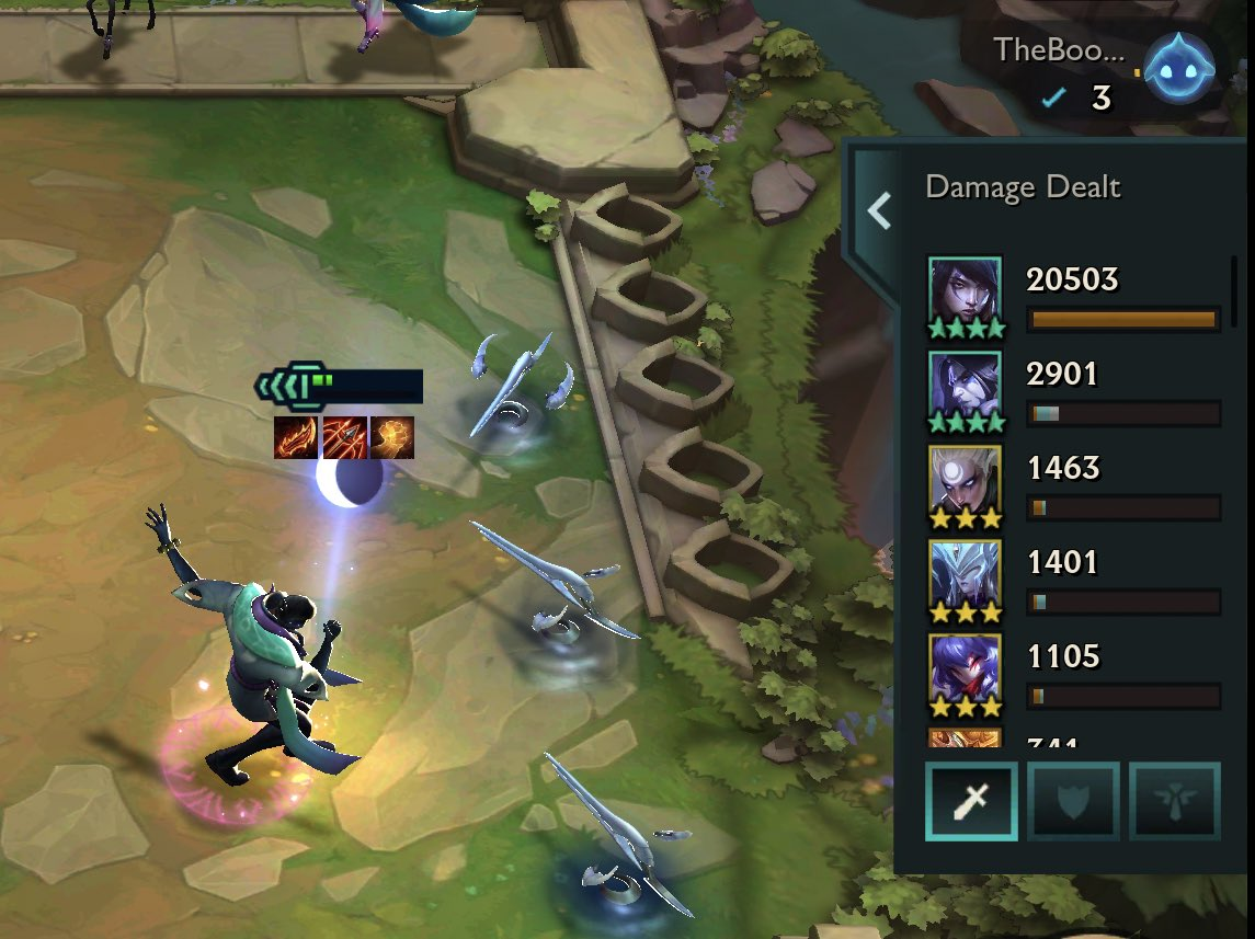 That 20k damage dance 💃 Also I swear I play more than just 5 moonlight 🤣😂 #tft #LeagueOfLegends