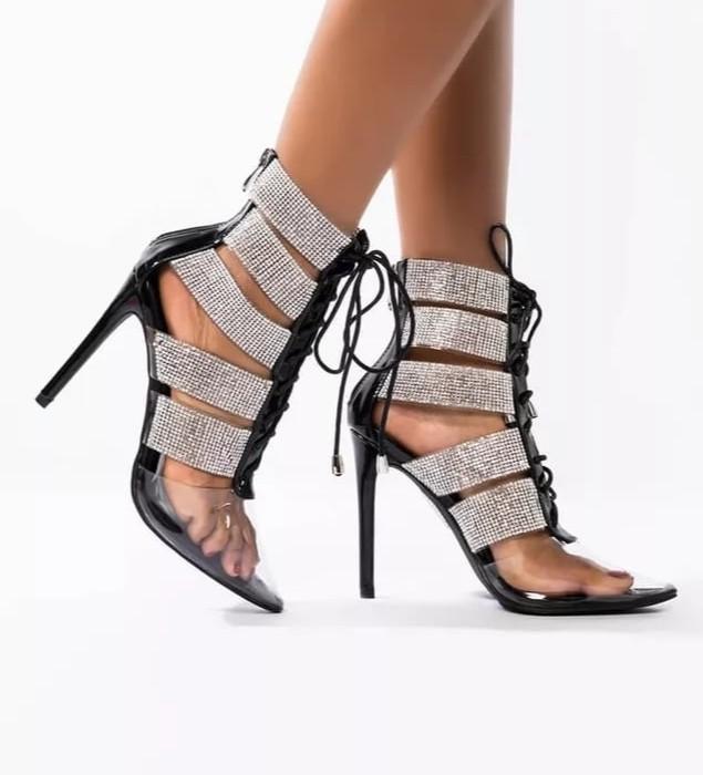 Elegant Crystal Shoes  Price: $ 140.98 Sizes: 35-44  SHOP now! 👉🏻:    #Classy #Top #Couture #Dresses #Fashion #Style #CoutureAddict #Clothingbrand #Exclusive #COAT #Sparkle #Blazer #Fit #Trendy #Sandals #Heels