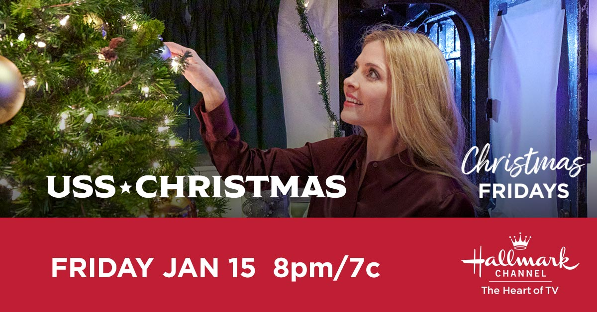 As a writer, Maddie @jen_lilley is always looking for her next story – but she never realized that the one she writes would lead her to love. Tune in tonight for the Christmas Fridays presentation of #USSChristmas at 8pm/7c.