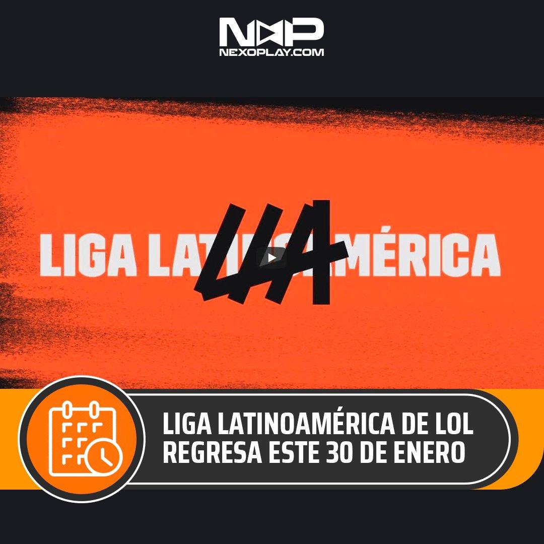 Anoten esta fecha, 30 de Enero 2021, vuelve la acción con los mejores jugadores de #LeagueOfLegends del cono sur. 💪   La #LLA regresa y ahí estaremos.  Conoce los detalles del inicio de la #LLA en este enlace: