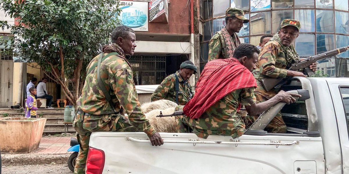 Eritrean & Ethiopian forces are looting households in Tigray; taking property, food & livestock. Thousands are not only robbed of their lives, but of their livelihood to survive. How far will @AbiyAhmedAli go with the #TigrayGenocide?#BidenTakeAction