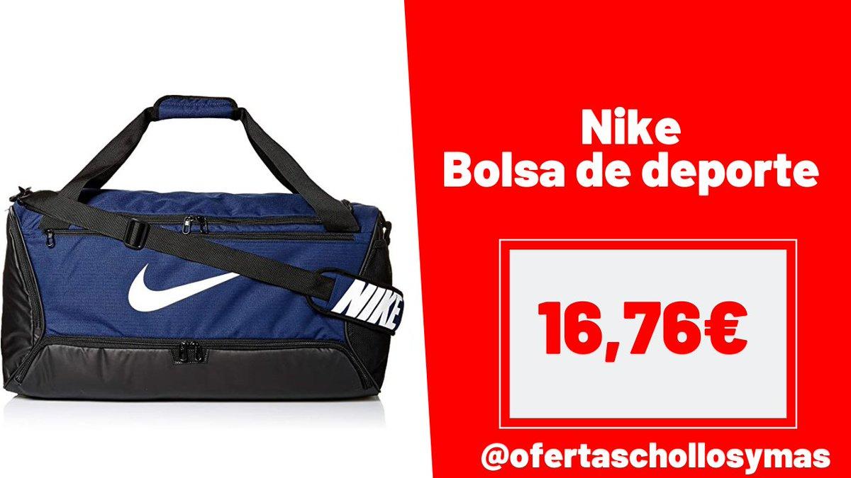 ⚠️⚠️ CHOLLO #Amazon ⚠️⚠️  ‼️ Precio de infarto ‼️  Nike Brasilia - Bolsa de deporte  💶 Precio: 16,76€ ❌ Antes: 35€  🖇   #deporte #Training #fitness