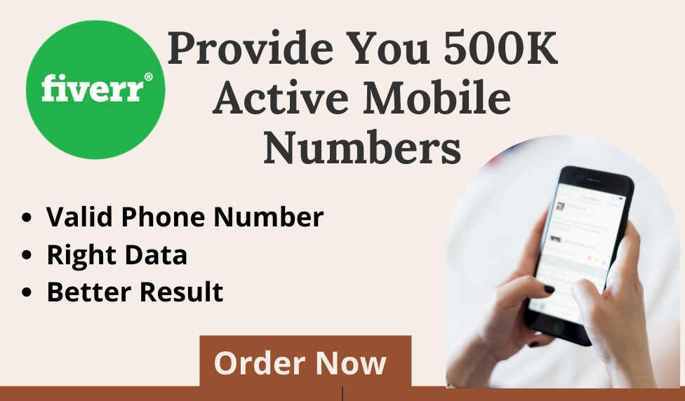 I will provide mobile phone numbers for text message marketing Click This Link:   #textmessagemarketing #mobilephonenumbers #digitalmarketing #textmarketing #onlinemarketing  #WandaVision #7YearsWithGOT7 #BeBest #seungkwan #twitchrecap