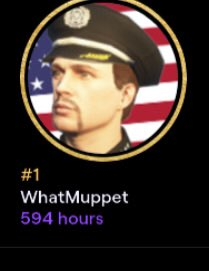 So, I used the LUL emote a little too much and LMAO, I can't believe I watched @WhatMuppet_ for 594 hours. Keep up the amazing work, Muppet! 💜 #TwitchRecap