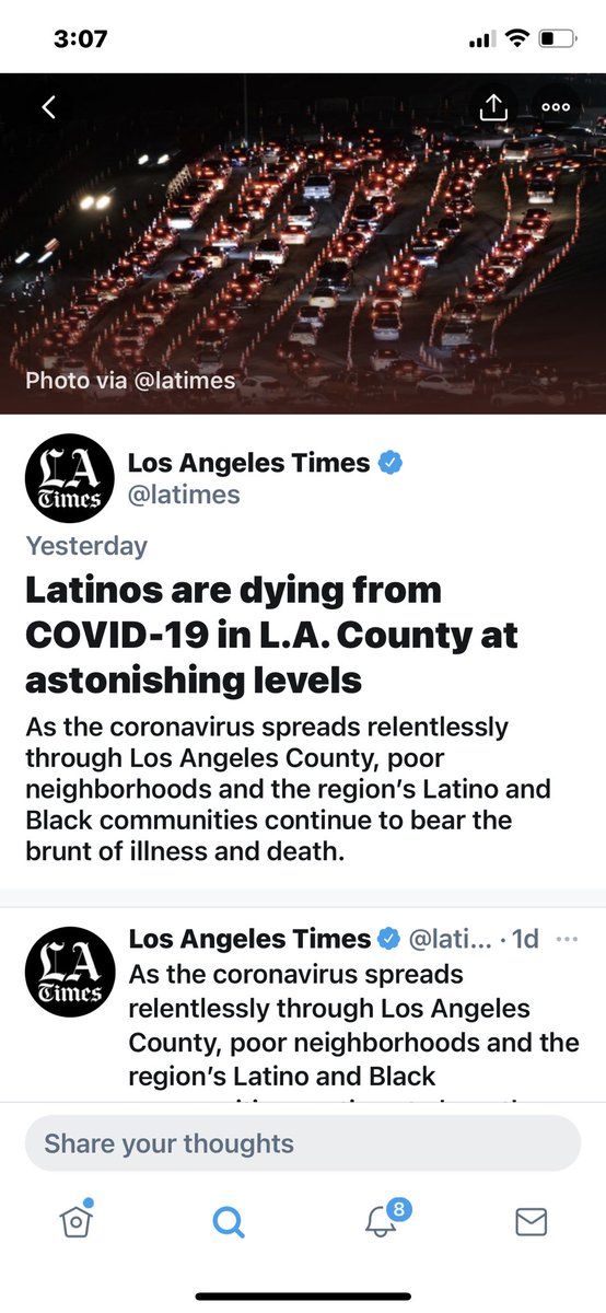 We as #Americans need to step the fuck up and do more for the Hispanic and Black communities for a myriad of reasons, this being just one of them.  #EnoughIsEnough