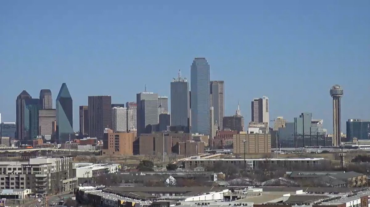 #Dallas #Skyline this afternoon. You gotta love an #american #cityscape everything looks so normal. We all of course know different. #webcam #worldview #travel #earthcam
