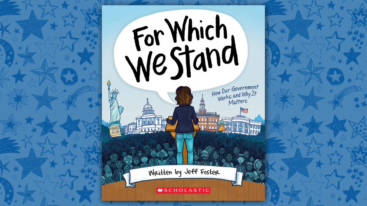 Does your kid have questions about how the government works? Check out #ForWhichWeStand, an essential, accessible, and highly illustrated guide to how our government really works from Marjory Stoneman Douglas AP government teacher @mrjefffostermsd!