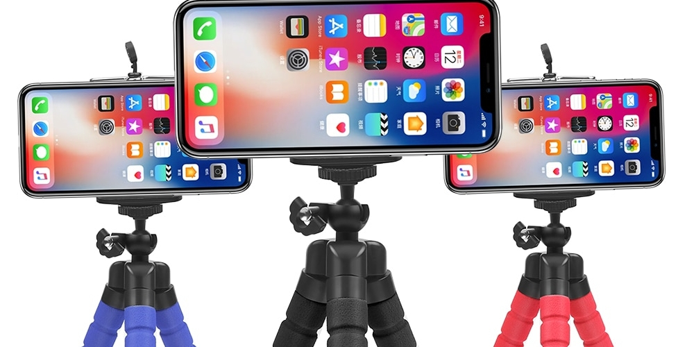 Smart Tripod Phone Camera Holder#purses #bycicleholder #earbuds #headphones #hearphones #phoneaccessories #phoneholder #phoneholders #phoneholder #smartholder #smartphoneholder #tabletholder #travel #travelaccessories