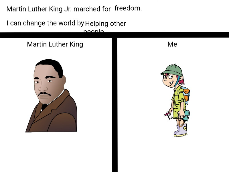 Students in <a target='_blank' href='http://twitter.com/KWBwelsh'>@KWBwelsh</a>'s class celebrated MLK Day last week by learning about how he changed the world.  One way was by marching for freedom.  Students also wrote how they can change the world. <a target='_blank' href='http://search.twitter.com/search?q=kwbpride'><a target='_blank' href='https://twitter.com/hashtag/kwbpride?src=hash'>#kwbpride</a></a> <a target='_blank' href='http://twitter.com/APSsocstudies'>@APSsocstudies</a> <a target='_blank' href='https://t.co/csEWAdEkVx'>https://t.co/csEWAdEkVx</a>