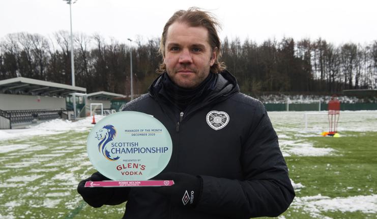 🏆 Mejor técnico de diciembre: Robbie Neilson (Hearts) 🏆 Mejor jugador de diciembre: Charlie Adam (Dundee) Premios #Championship