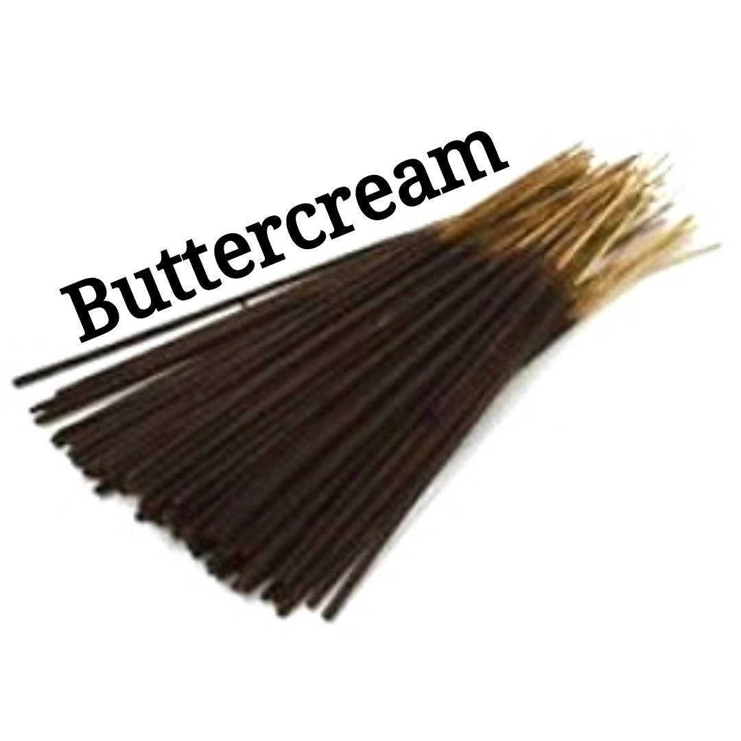 Incense Sticks | Buttercream (Type) | 30 Incense Sticks | Incense Bundle  #AromatherapyOil #BlackFriday #HomeFragranceOil #Etsy #Incense #Wedding #PerfumeBodyOils #HerbalRemedies #CyberMonday #GiftShopSale #HomeBlessings