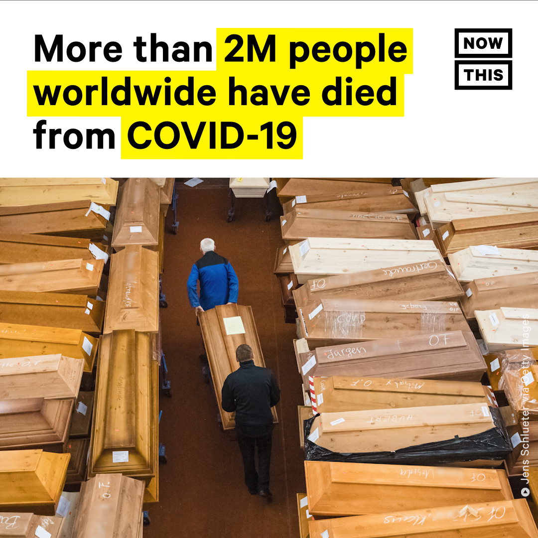 On January 15, the world surpassed 2M deaths from COVID-19. The unfortunate milestone comes a little more than one year after the first case was detected in Wuhan, China. The world hit 1M COVID-19 deaths in 8 months, but it took less than 4 months to pass another million deaths.