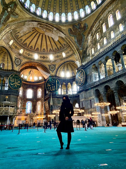 Hagia Sophia  Istanbul, Turkey https://t.co/4x0BPiSeej