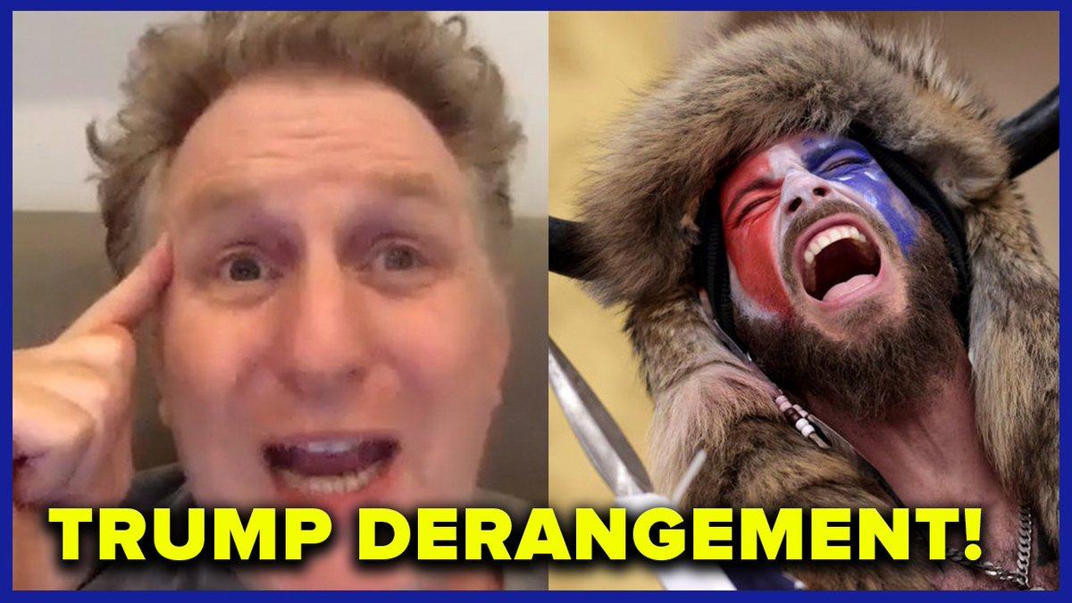 """""""You're not in Whole Foods. You're in jail motherf**ker."""" @MichaelRapaport goes off on the real Trump Derangement Syndrome of the terrorists who stormed the Capitol for Trump on the latest MeidasTouch Podcast."""