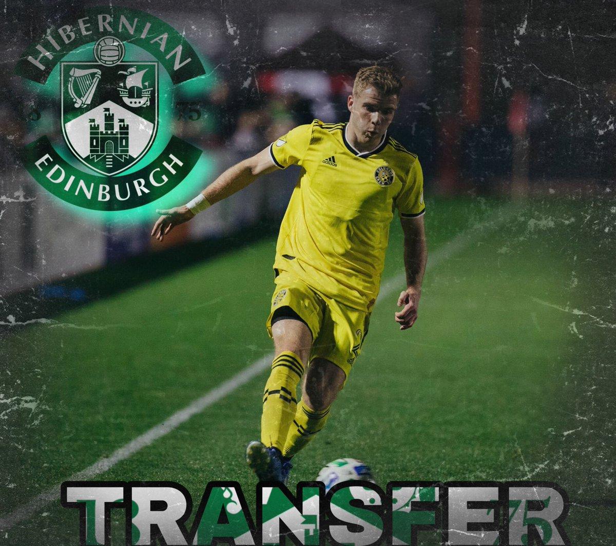 Columbus Crew midfielder Chris Cadden has officially transferred to Hibernian FC in the Scottish Premiership. #Crew96 #HibernianFC