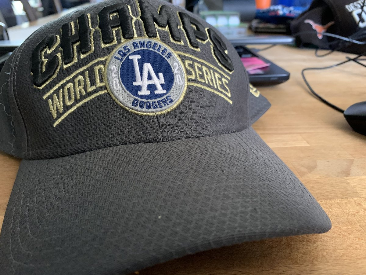 Happy #NationalHatDay to all of my fellow @Dodgers fans.