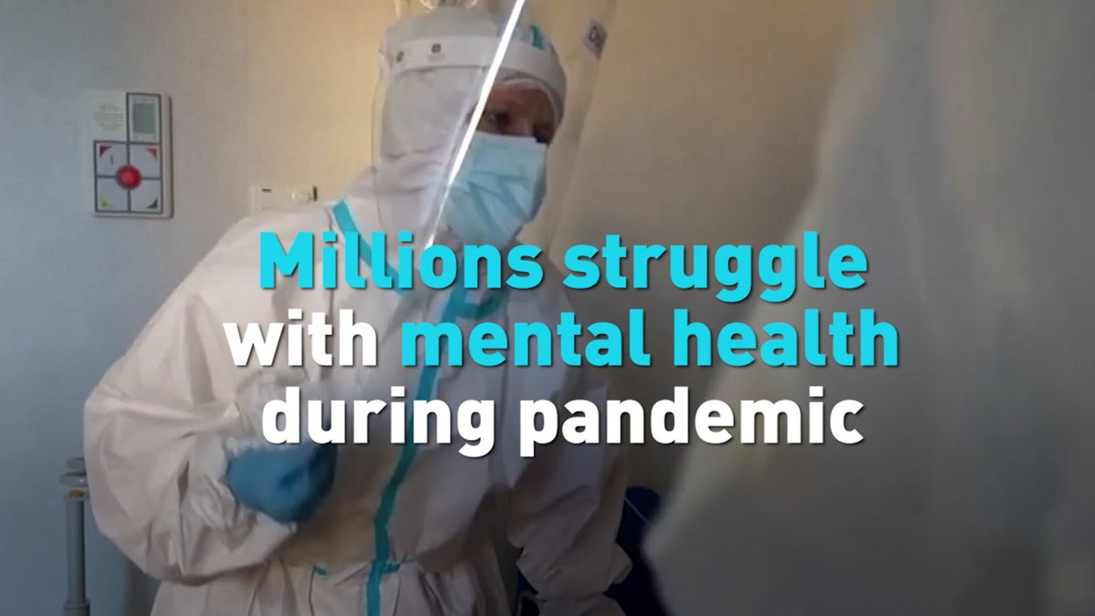 Millions of Americans are struggling with mental health issues at the height of the COVID-190 pandemic and shutdowns. See how major companies are trying to balance the concerns of their employees and help people stay safe.