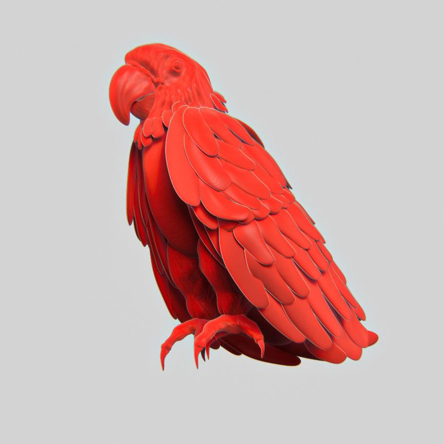 Little parrot guy  #zbrush #parrot #sculpt #cgart #cg #graphics #vfx #gameart #redshift3d #anime #cyberpunk #polycount #3d #concept #wip #design #art #conceptart #environmentart #artstation #artstationhq #temple #3dartist #environment #lowpoly #render #subtancepainter #conceptart
