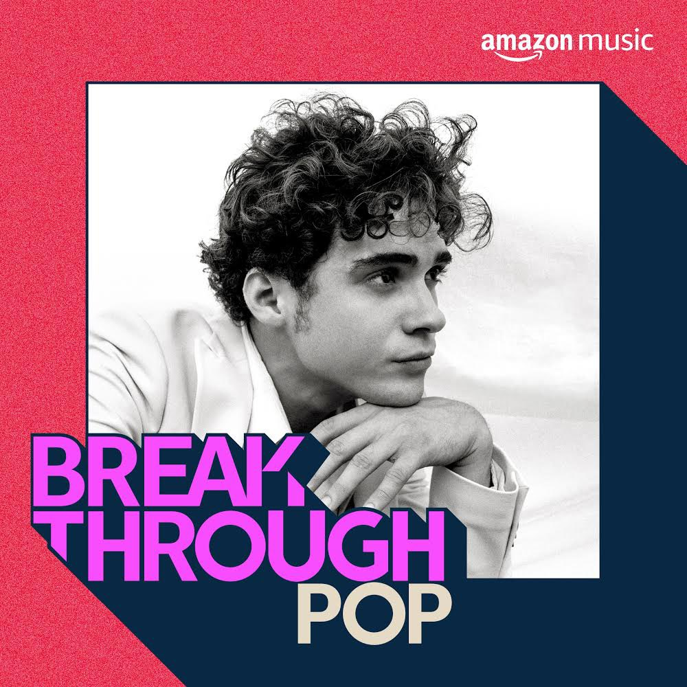 Joshua on the cover of @amazonmusic Breakthrough Pop ?