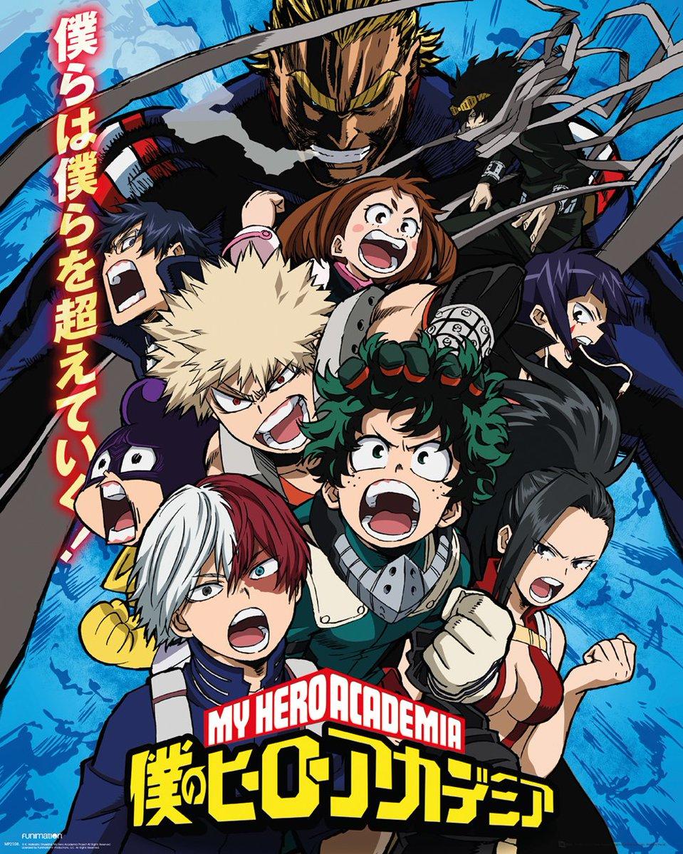 #AnimeAwards The winner is...My Hero Academia!