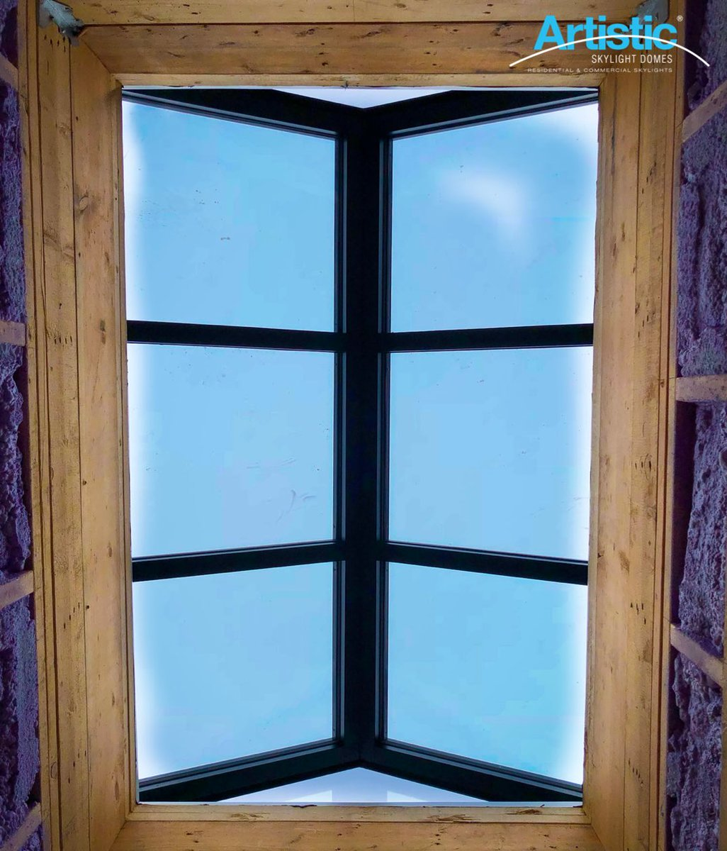 Always looking upwards. We hope you love these views as much as we do. #skylights #skylight #artisticskylight #Construction #toronto #roofing #architecture #design