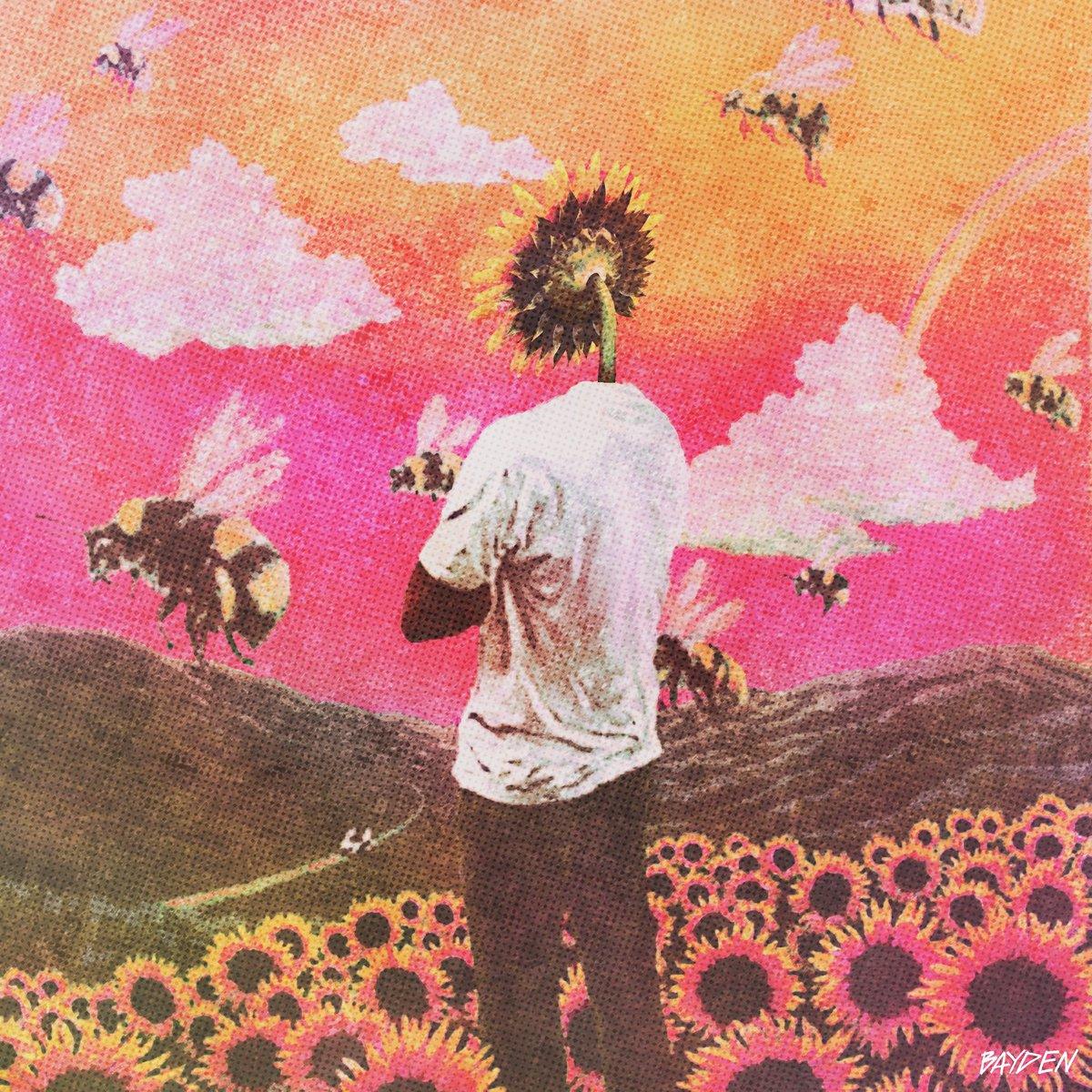 edited @tylerthecreator 's sunflower cover art for fun. #art #gfx #edit #tyler #tylerthecreator #tylerart #rap #rapart #coverart #design