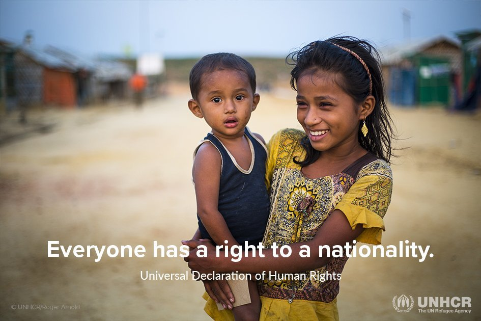 Nationality. It's not a privilege, it's a human right. #iBelong
