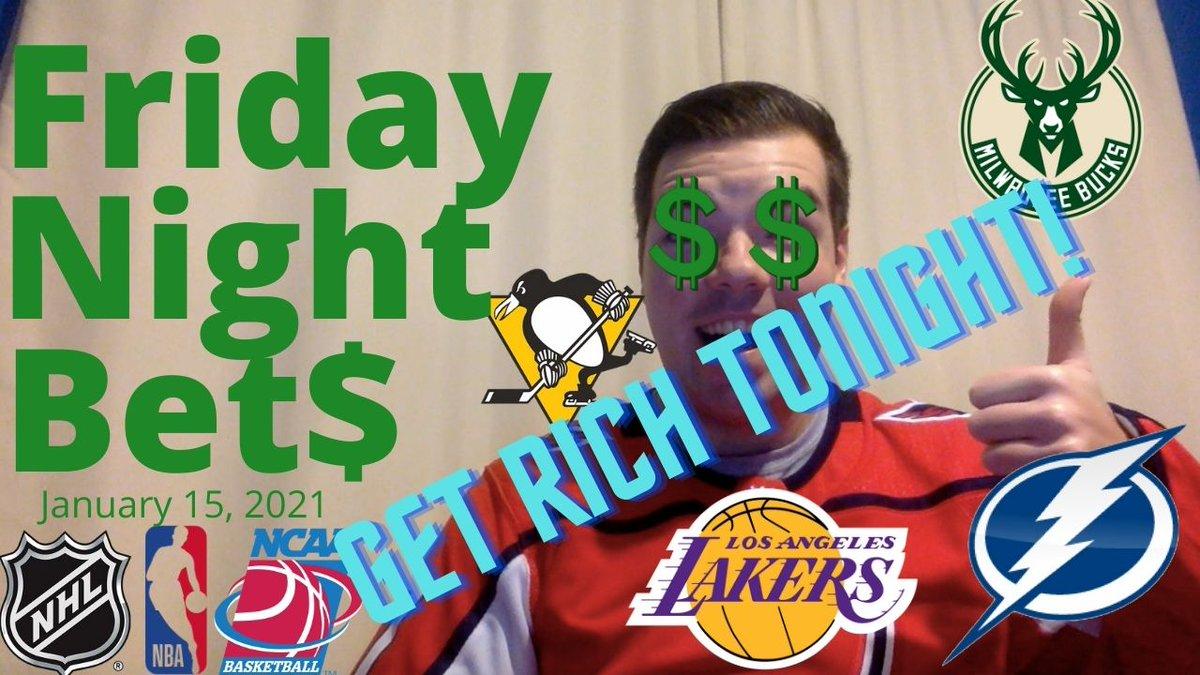 Welcome back to #FNB, @NHL! Time for another week of Friday Night Bets!  Link:   #SportsPanorama #sports #NHL #tblightning #Penguins #Flyers #Gritty #NBA2K21 #NBA #NBATwitter #NBAonTNT #NBA2K21MyTeam #LakeShow #Bucks #Mavs #sportsbettingadvisor #sportsbets
