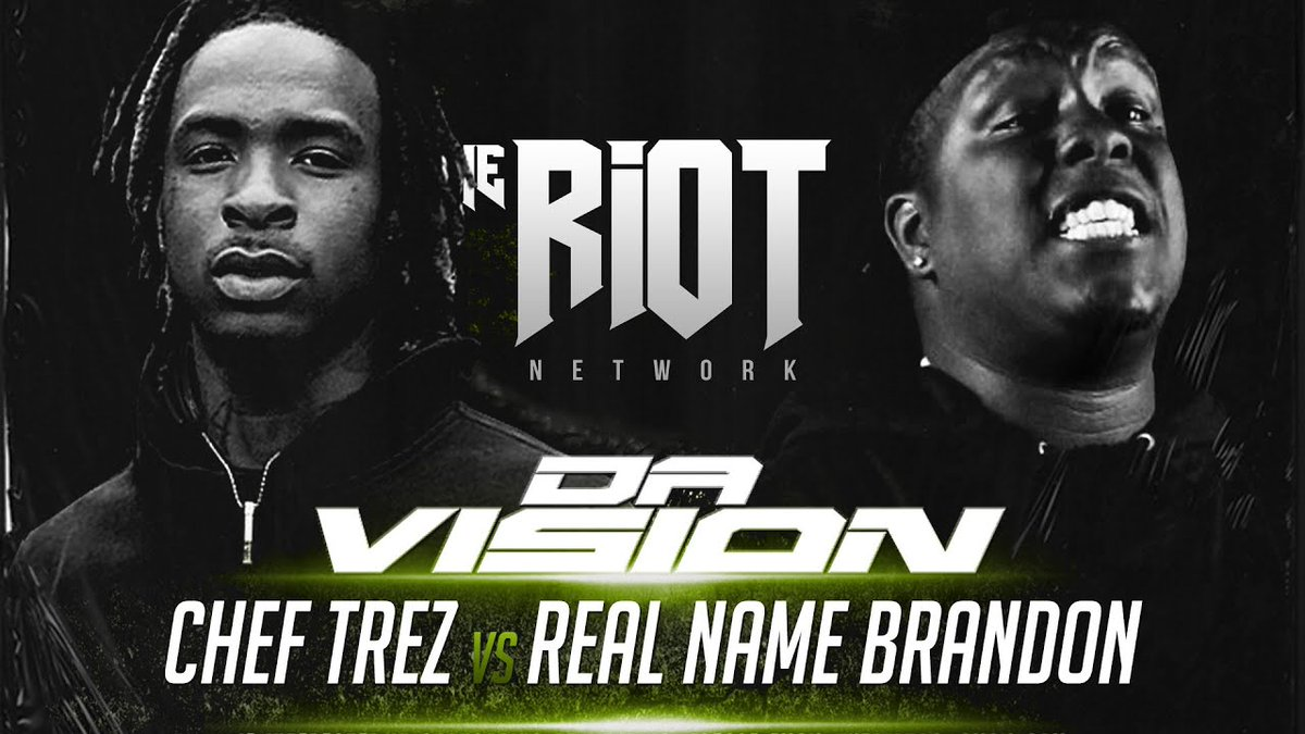 CHEF TREZ VS REAL NAME BRANDON | THE RIOT NETWORK | RAP BATTLE ...... -  #hoodgrind #hiphop #breakingnews #battlerap #hiphopnews #celebrities #gossip #celebritygossip #hoodclips #music #rnb #pop #podcast #rap #videos #funnyvideos