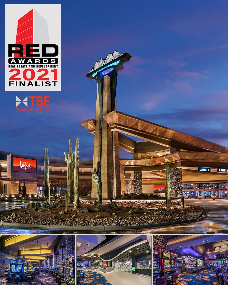 We are thrilled that the new casino at We-Ko-Pa Resort & Conference Center would be a finalist for Arizona's 2021 RED Awards. We're excited to see who the winners of this prestigious award will be in March!  #TBEarchitects #tribal #casino #design #architecture #REDawards #Arizona