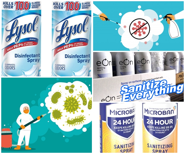 #WearAMask whenever you're out. And when you get back home empty-handed because you couldn't find any #Lysol or spray #disinfectant check us out. Lysol #Microban #Eon Personal Disinfectant and wipes @garageandattic #NYC #JERSEY