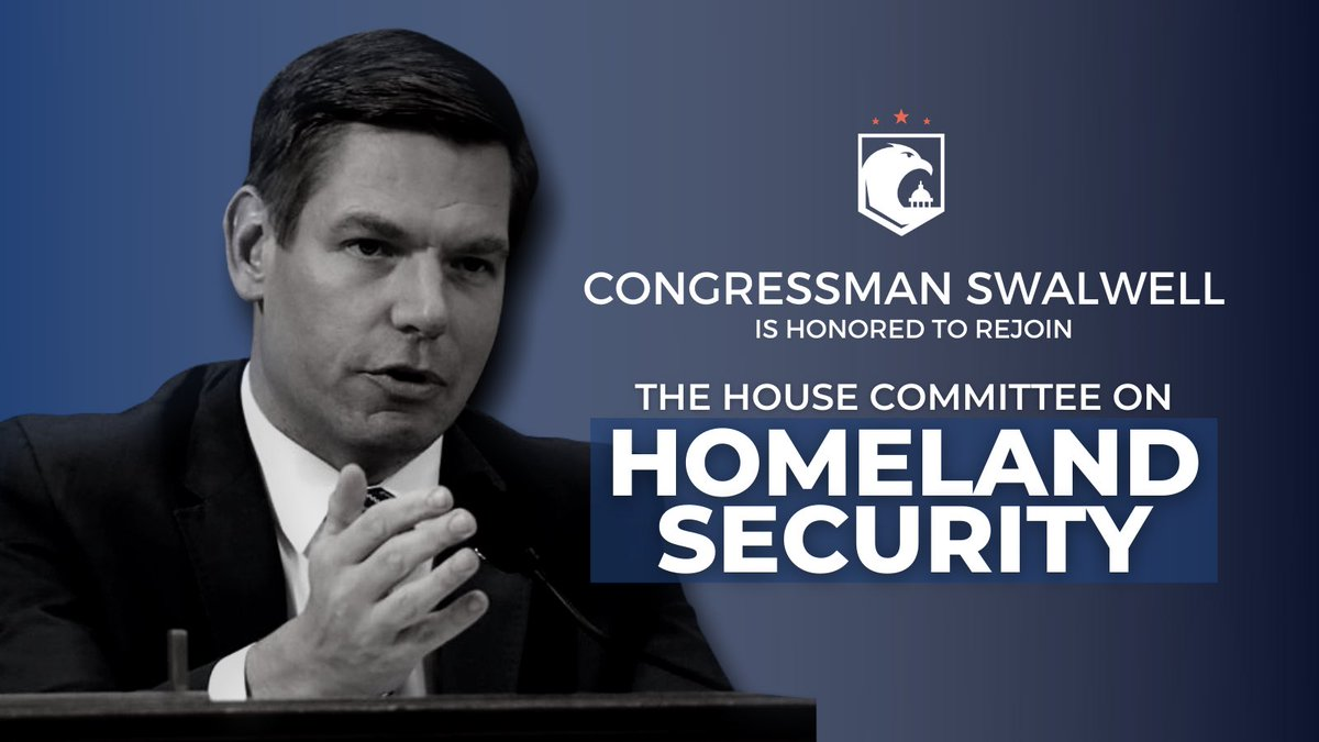I'm honored and excited to rejoin active service on @HomelandDems, where I plan to focus on highlighting and finding solutions to the scourge of white nationalist extremism.