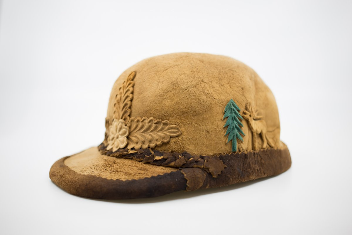 When is a hat not a hat? 🤔 When it's a mushroom! 🍄   This head topper is from Hungary. But if you're hungry, please look elsewhere for a snack. This fungus, Fomes fomentarius, is not good to eat. #NationalHatDay