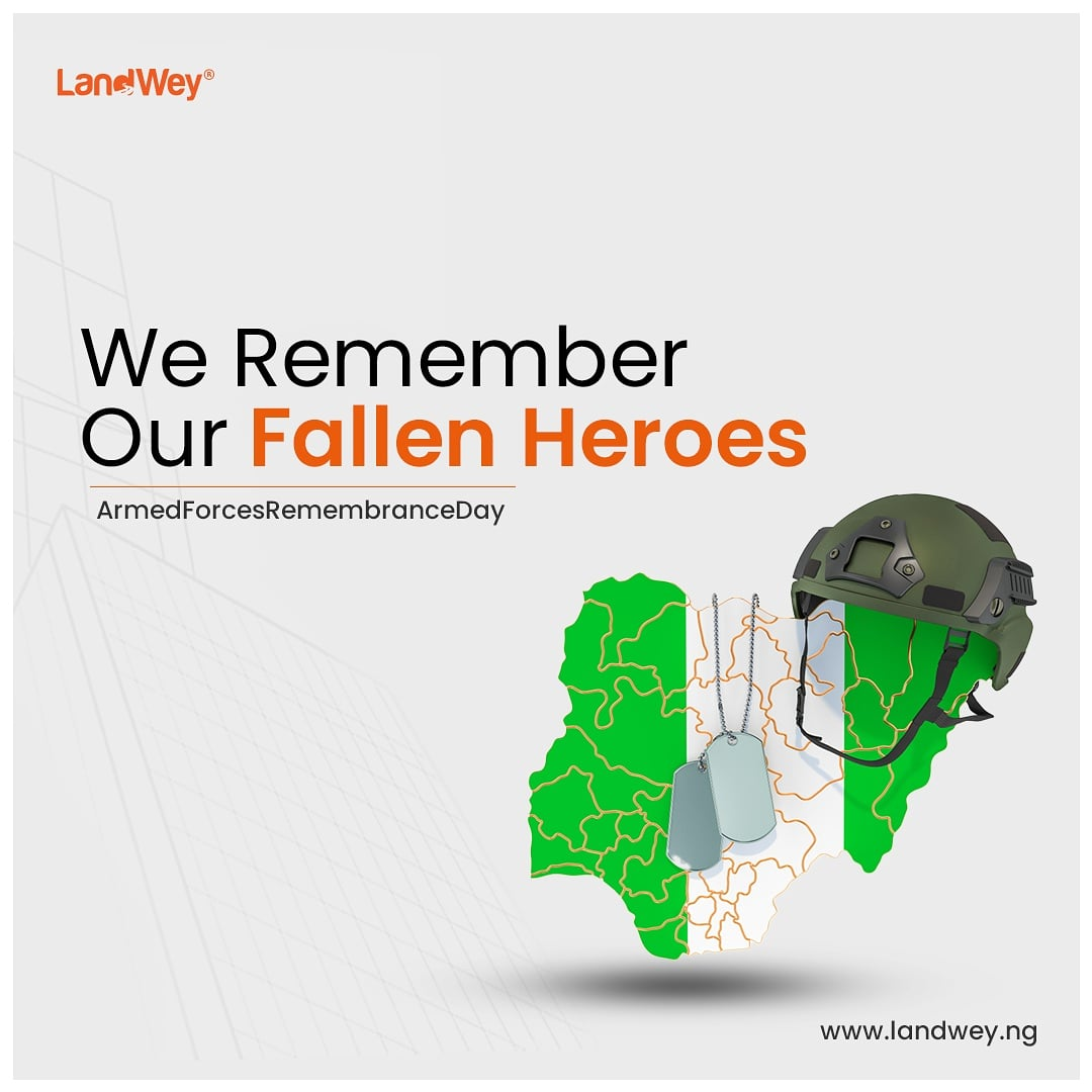 It's #armedforceremembranceday. Today, we pay our respects to those who have paid the ultimate price and we honor those who put their lives on the line again and again for the sake of our nation. Thank you, for your heroism.  #remembranceday #nigeria
