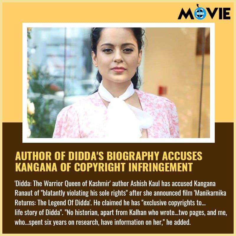 @KanganaTeam #Didda #Biography #Copyright #Movie #Bollywood #MovieKeeda