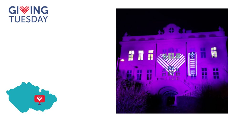 "#GivingTuesday Czech Republic (@GivingTuesdayCZ)  organized a ""Light for Doctors"" campaign to light up hospital buildings across the Czech Republic, shining a symbolic light for all health professionals and fellow citizens affected by COVID-19."