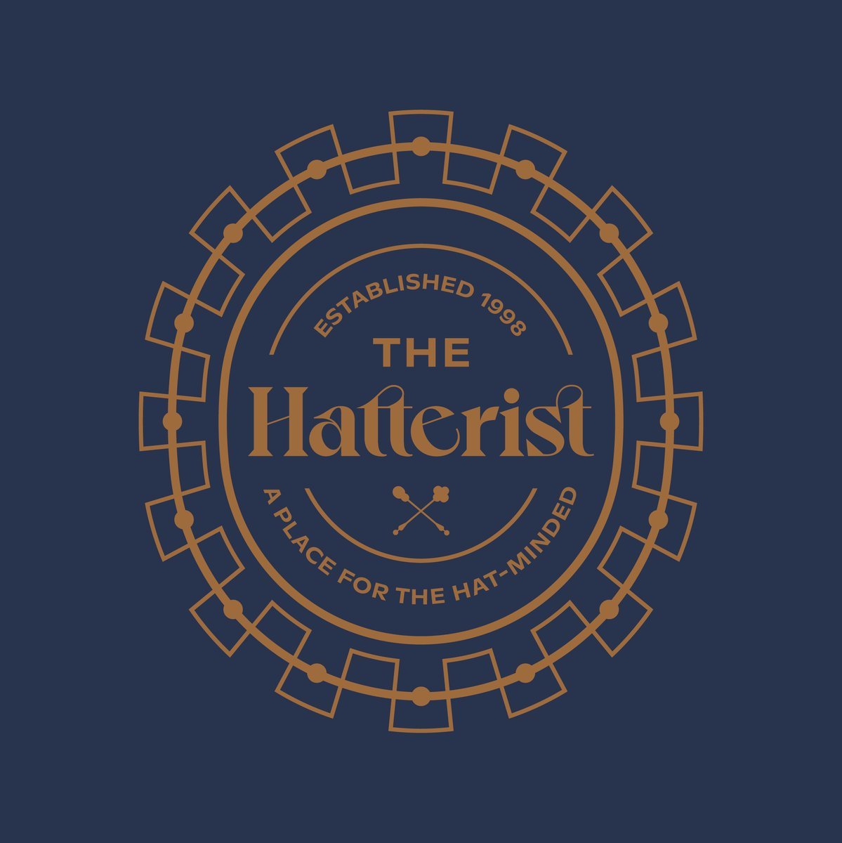 🎩👒🧢 Cheers to our friends at The Hatterist and all the hat-minded people on this #NationalHatDay. It was a joy creating a new identity and soon to be released website for this brand that's advancing the headwear industry and making hat lovers of us all.