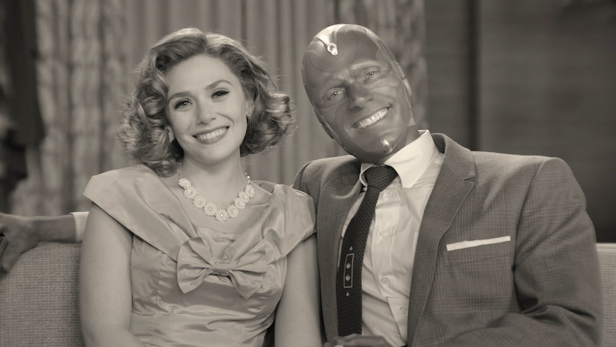 Imagine if #Bewitched and #TheTrumanShow got smooshed together. It's bizarre, it's odd, it's quirky and I can't wait to see what happens next. Bravo @Marvel and @Disney and all involved #WandaVision