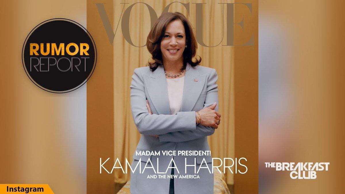 People Aren't Happy About Kamala Harris' Vogue Cover ...... -  #hoodgrind #hiphop #breakingnews #battlerap #hiphopnews #celebrities #gossip #celebritygossip #hoodclips #music #rnb #pop #podcast #rap #videos #funnyvideos