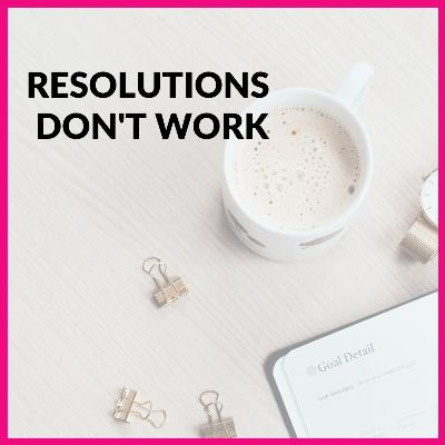 💔Are you already on the JKL Email list? 💌 It gets better every week and we are doing more giveaways in 2021, be sure to join. THIS WEEK: Resolutions don't work because we forget to focus on habits and systems, PLUS Download Habit Tracker 👍 -