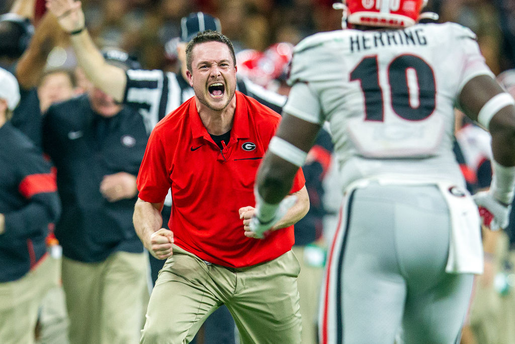 Report: Georgia defensive coordinator Dan Lanning has emerged as the favorite to become the new Texas DC, according to Dennis Dodd of CBS Sports.
