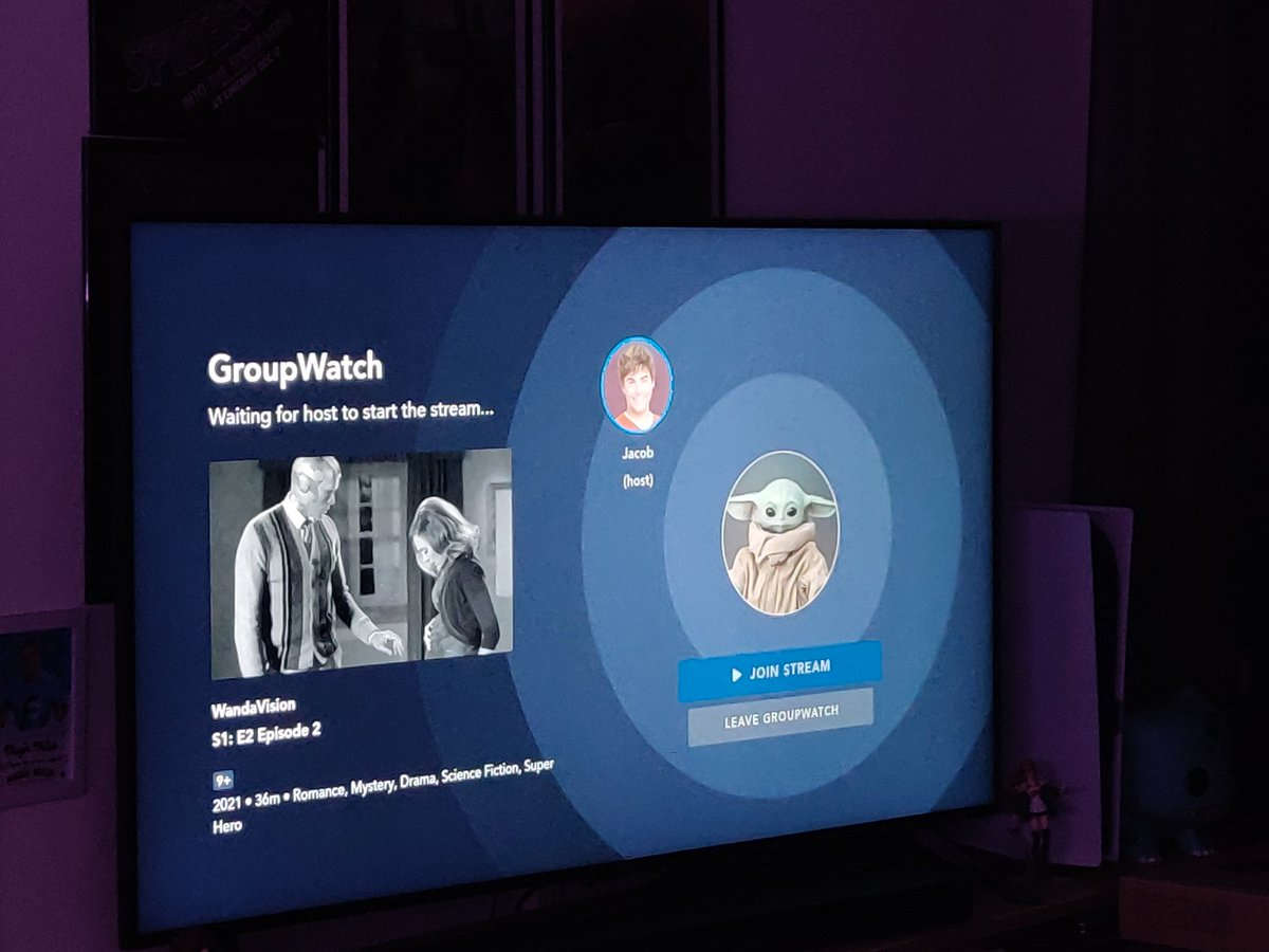 The Group Watch feature on @DisneyPlusUK is SO MUCH FUN. Tried it for the first time with @SnapItMate to watch #WandaVision and it worked like a dream. Having just emojis pop on your screen doesn't distract you and elevates the viewing experience. And we were 100% in sync!...