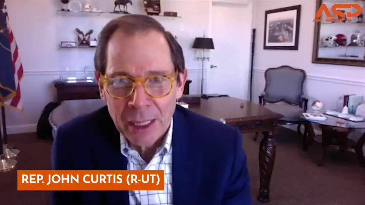 Where does the Republican party go from here? Hear @RepJohnCurtis explain how he will act deliberately, after the events at the Capitol & President Trump's impeachment, to deescalate & break the cycle of anger present in government right now. Watch here 👉