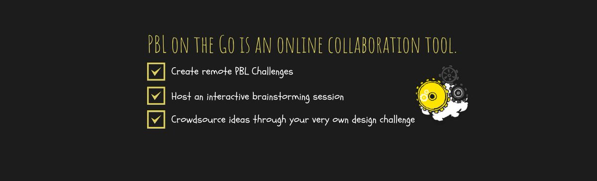 We're all about meaningful tech integration that enables students to use #TechForGood, apply content, and build skills. PBLontheGo is an unparalleled platform that enables teachers to host virtual #PBL. Learn more today.  Sign up for our Launch 👉