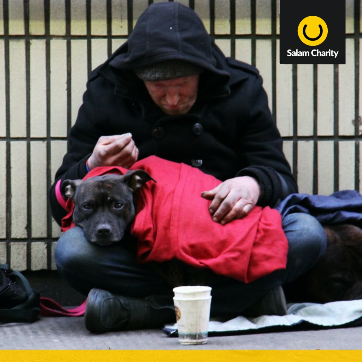 #thecoldtruth ❄️  With temperatures consistently hitting below zero, those living rough in the UK have no place to call home.  Please donate:  ______ #homeless #london #refugees #warm #charity #winter