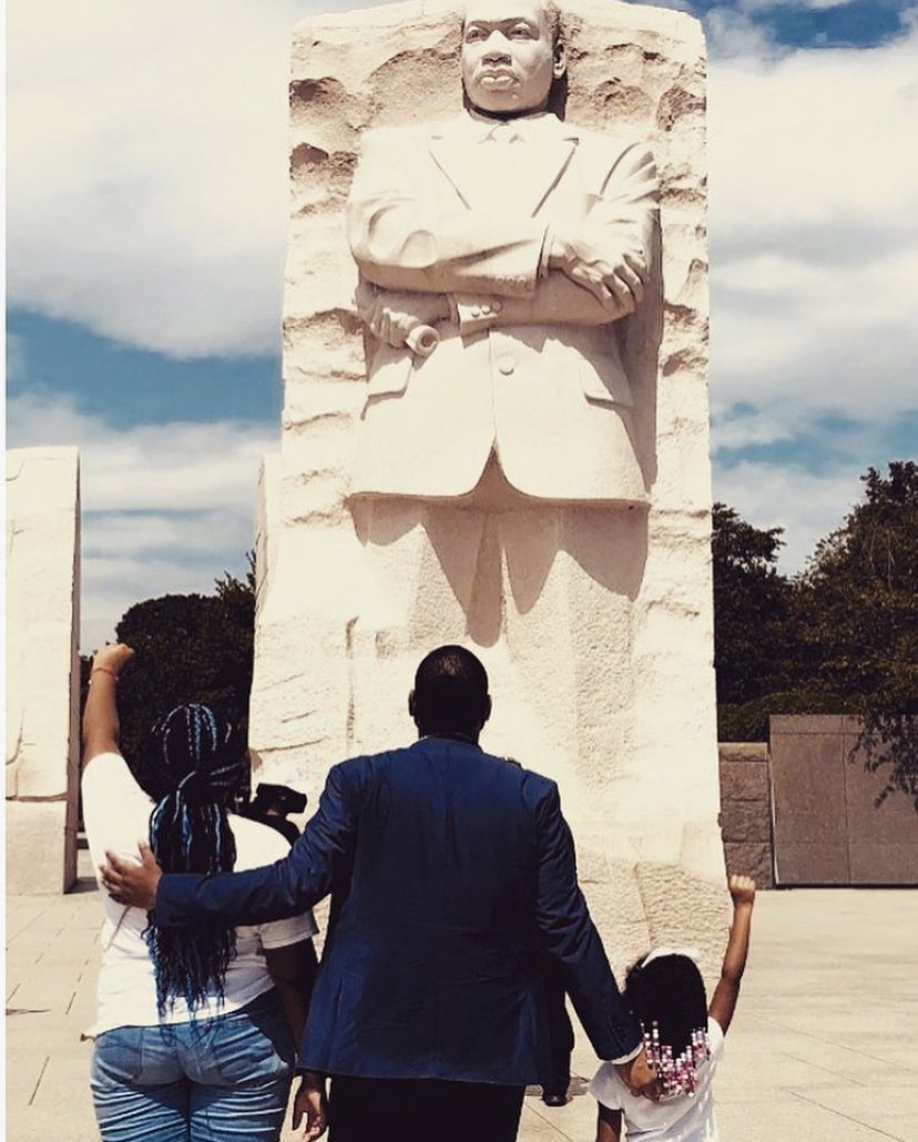 Thank you, King.  The Dream lives.  #MLK