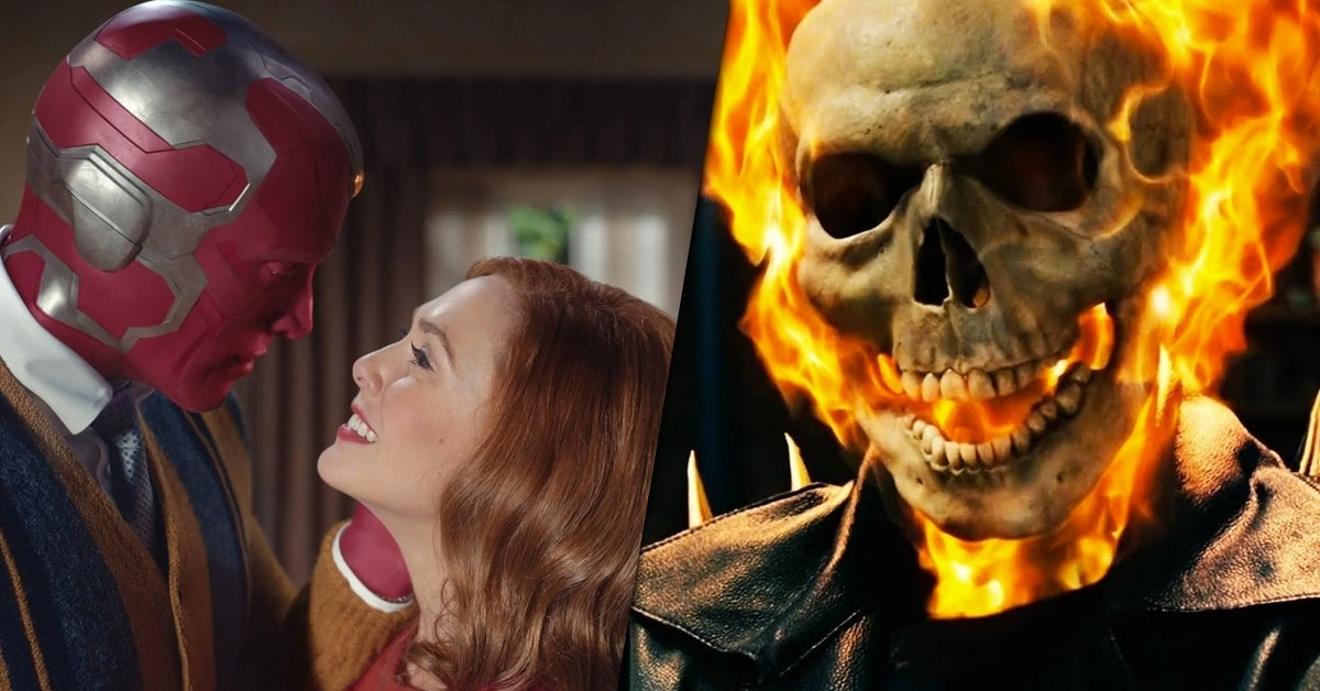 #WandaVision could totally be setting the stage for that rumored #GhostRider project. Maybe.