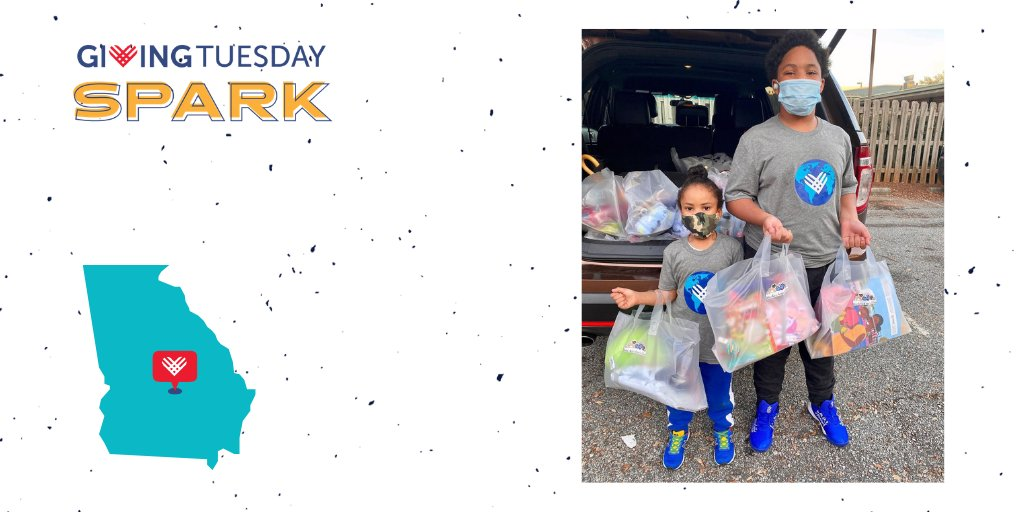 """GTSpark leader C.J. Matthews of Atlanta, GA organized a """"Giving Bowl, """"a drive-through donation station to collect blankets for kids at his local homeless shelter. He collected 150 blankets at the event and cash donations allowed him to give away almost 1,000 blankets."""