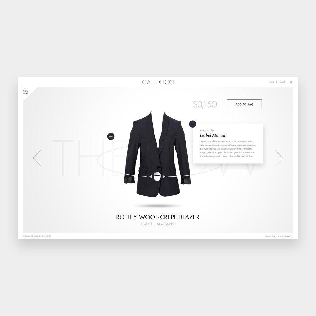 Calexico Boutique Website. By Fred Nerby @nerbydesign -      - #design#userinterface#ui #ux #website#webdesign#digital#webdesign #designinspiration #webstagram