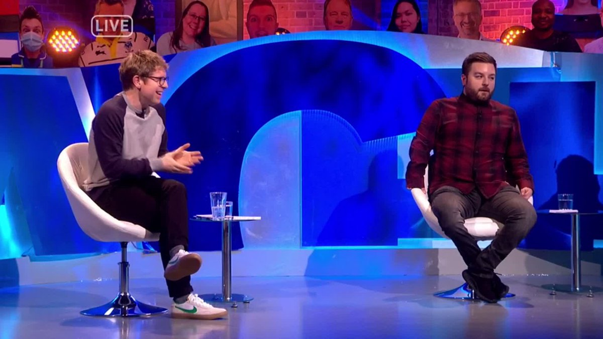 """""""But once again, this is the Government blaming you for their mistakes. This is not your fault."""" - @adamhillscomedy   @TheLastLeg"""